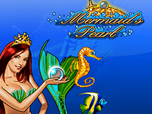 Играть в автомат Mermaid`s Pearl на деньги