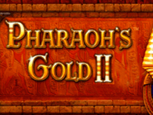 Автомат Pharaohs Gold 2 на деньги