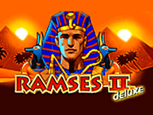 Автомат Ramses II Deluxe с бонусами